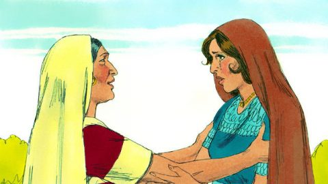 Noemi e Rute Voltam para Belém