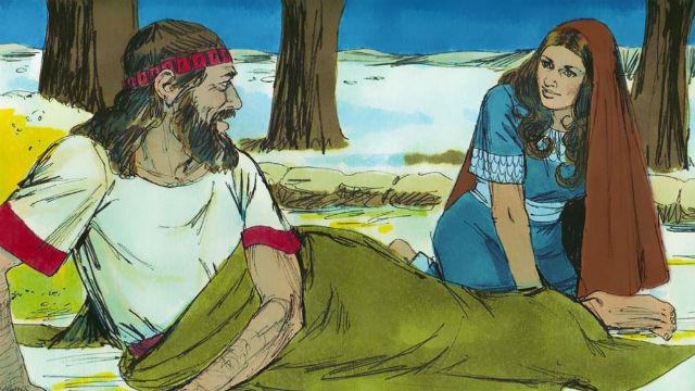 Rute Visita Boaz à Noite