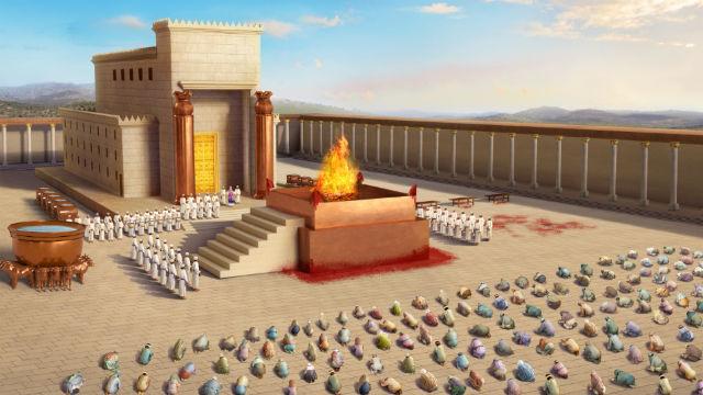 Templo de Jerusalém - Quais caracteristicas de Davi que estão de acordo com a vontade de Deus?