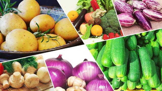 Todos os tipos de comidas vegetarianas que Deus prepara para a humanidade