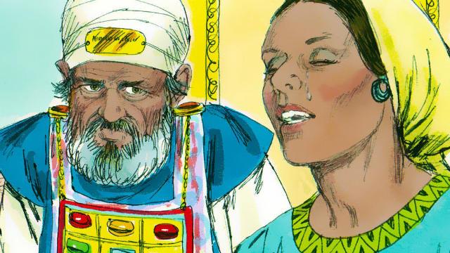 Ana Ora a Deus por um Filho