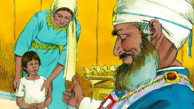 História de Ana e Samuel - Ana Dá Samuel a Jeová