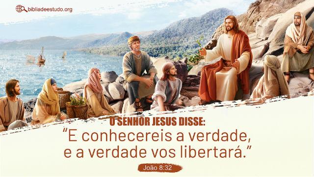 Versículo do Dia: João Capítulo 8 Versículo 32