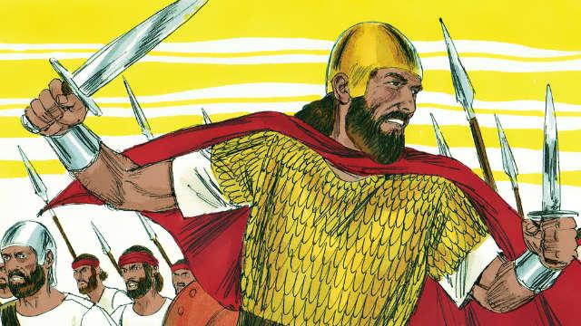 História do rei Saul - Saul Derrota os Amonitas