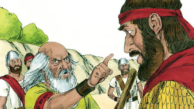 A desobediência de Saul - O Sacrifício Ilegítimo de Saul