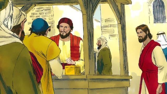 História da Bíblia - Senhor Jesus Chama Mateus