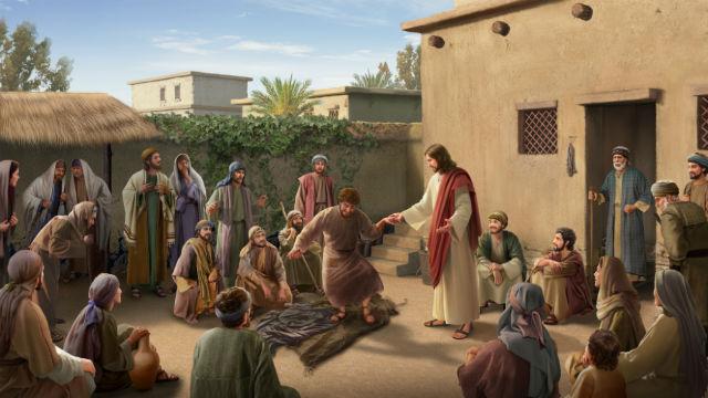 História da Bíblia - Senhor Jesus Cura um Paralítico