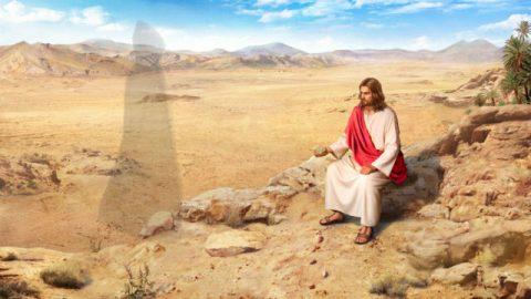 História da Bíblia: Jesus é tentado no deserto