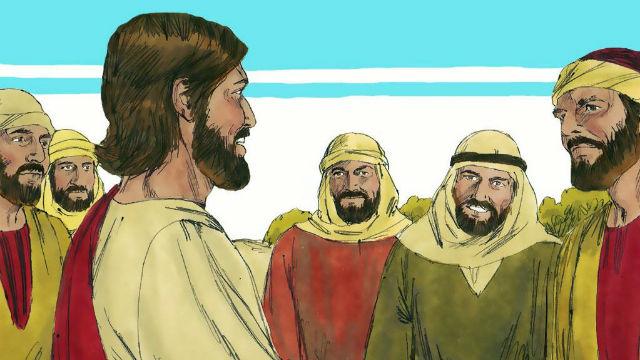 História da Bíblia - Senhor Jesus Envia os Doze Apóstolos