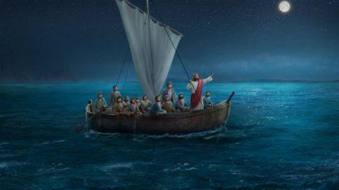 Estudo Bíblico sobre Jesus acalma a tempestade