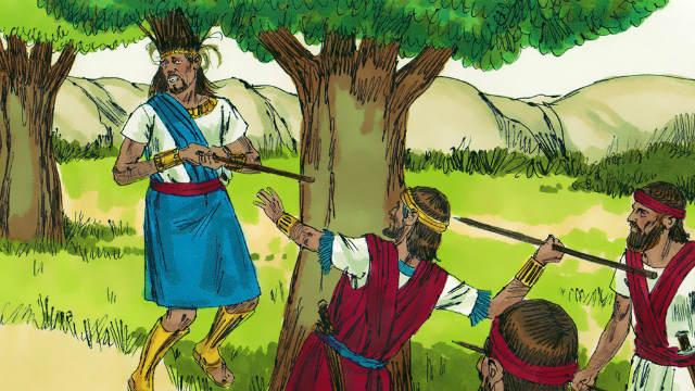 Absalão filho de Davi - A Derrota e a Morte de Absalão