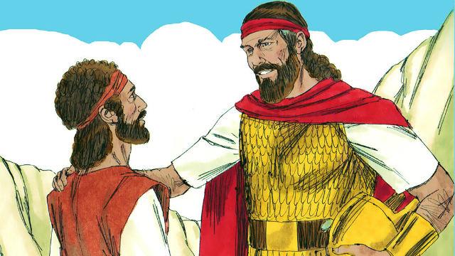 Davi Teme Jeová e Livra a Vida de Saul Duas Vezes