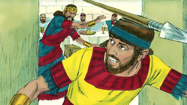 Estudo sobre Saul e Davi - Davi Foge da Perseguição de Saul