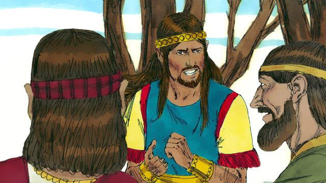 Husai Vai Contra o Conselho de Aitofel