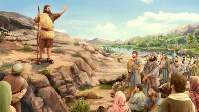Histórias da Bíblia – João Batista Prega no Deserto