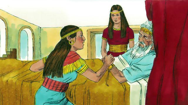 História da Bíblia - A velhice de Davi