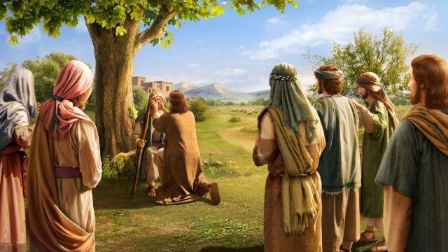 História da Bíblia - Senhor Jesus Cura Dois Cegos