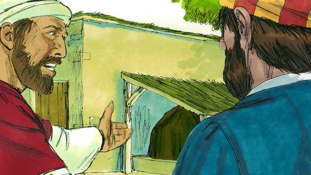 O Espírito Santo Diz a Pedro para Visitar Cornélio