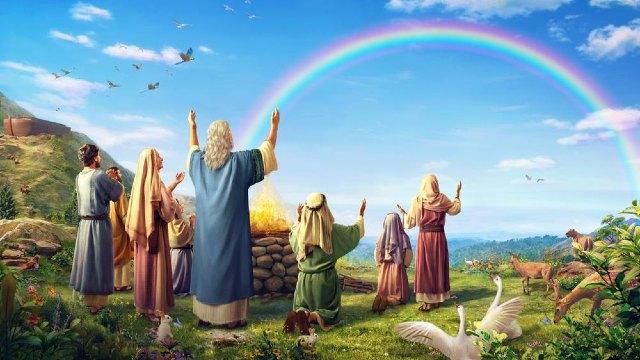 Deus usa Suas palavras para estabelecer um pacto com o homem